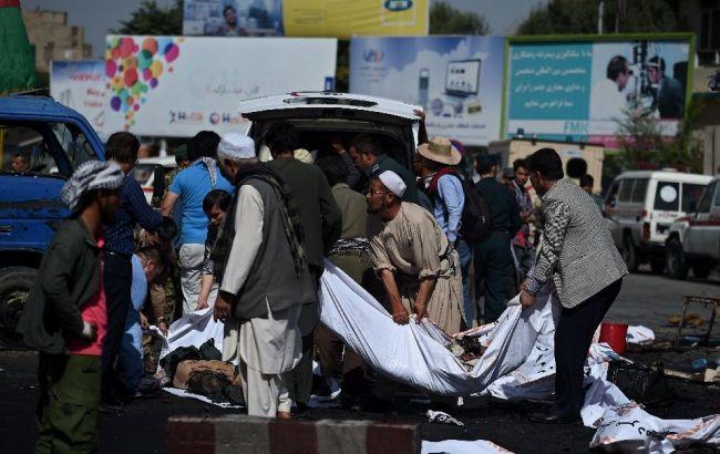 Фото: в Афганістані зростає кількість загиблих від вибухів
