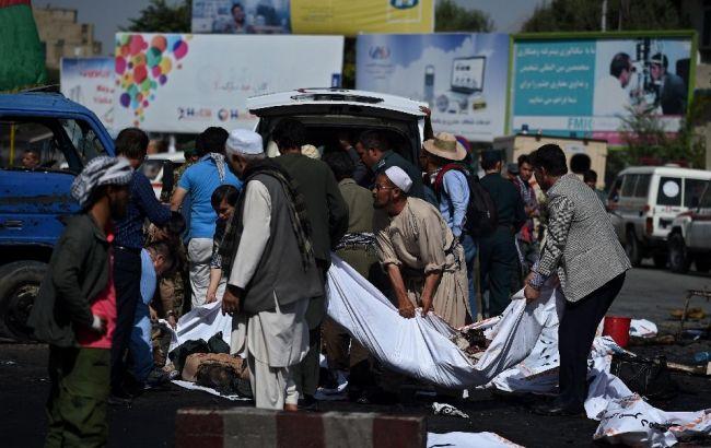 """Фото: """"Ісламська держава"""" взяла відповідальність за вибухи в Кабулі"""