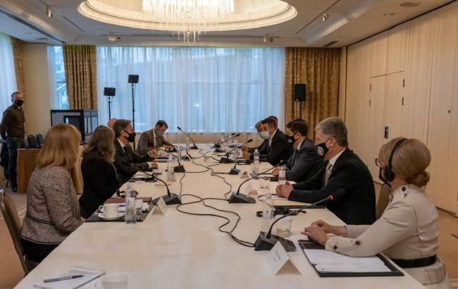 Блінкен обговорив з главами фракцій закони, необхідні для реформ в Україні