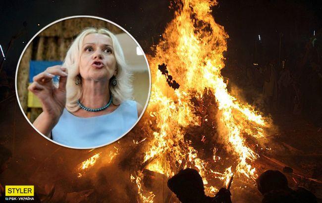 """Фаріон закликала спалювати людей за прояв """"московського духа"""""""