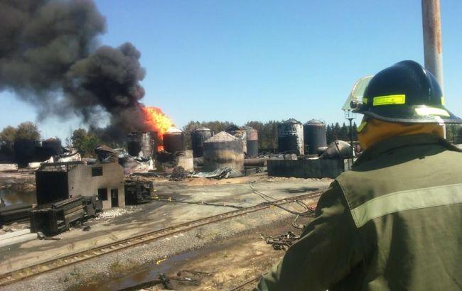В МВД назвали главную причину ущерба вследствие пожара на нефтебазе под Киевом