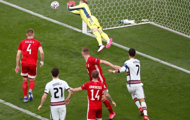 Португалия начала Евро с победы против Венгрии. Португальцы - чемпионы Европы
