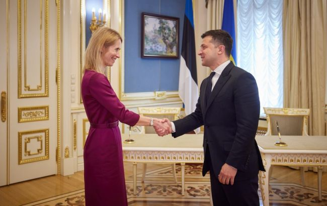 Эстония поддержит вступление Украины в ЕС