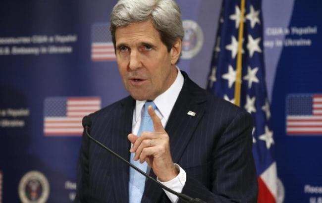 Госсекретарь США Керри посетит Киев 6 февраля, - СМИ