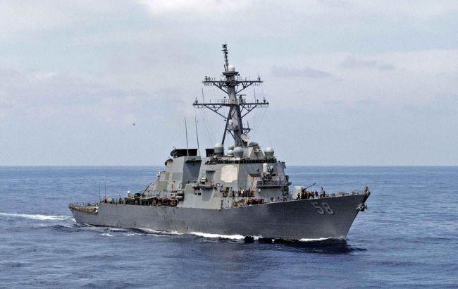 США направили в Чорне море ракетного есмінця