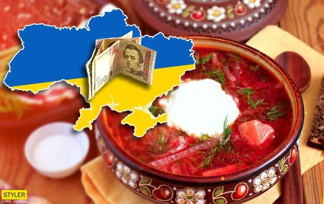 В Одессе дорого, в Тернополе не очень: сколько стоит приготовить борщ