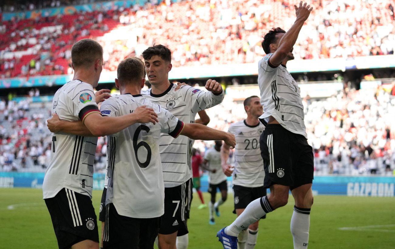 Германия победила Португалию в самом результативном матче Евро-2020. С двумя автоголами