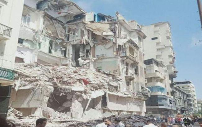 В Египте частично обрушился жилой дом, под завалами есть люди