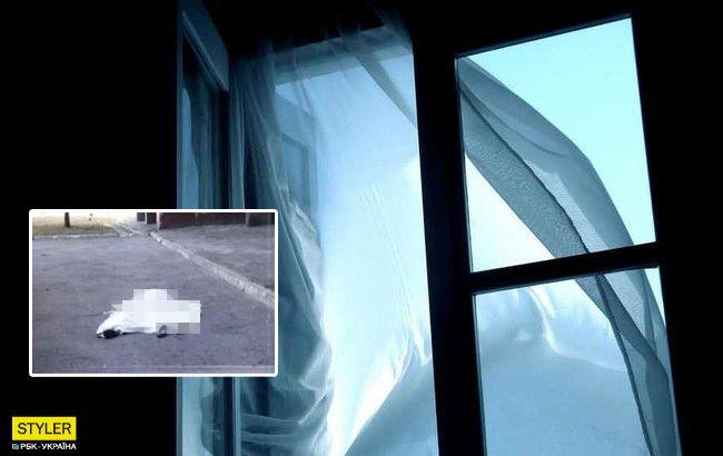 """НП в Києві: підліток """"під кайфом"""" стрибнув з вікна багатоповерхівки"""