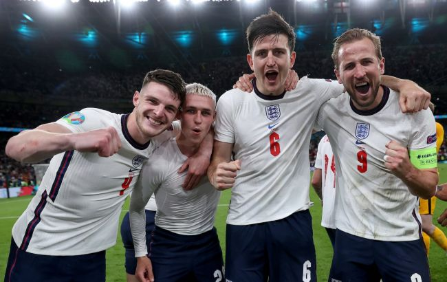 Англія вперше потрапила у фінал Євро або ЧС та інші досягнення англійців після гри з Данією