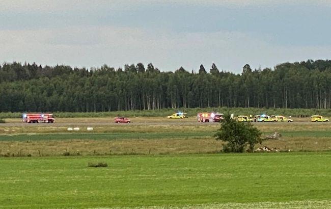 У Швеції відразу після вильоту з аеропорту розбився літак