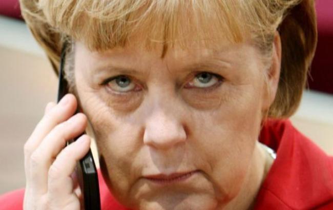 Меркель исключила поставки вооружения Украине