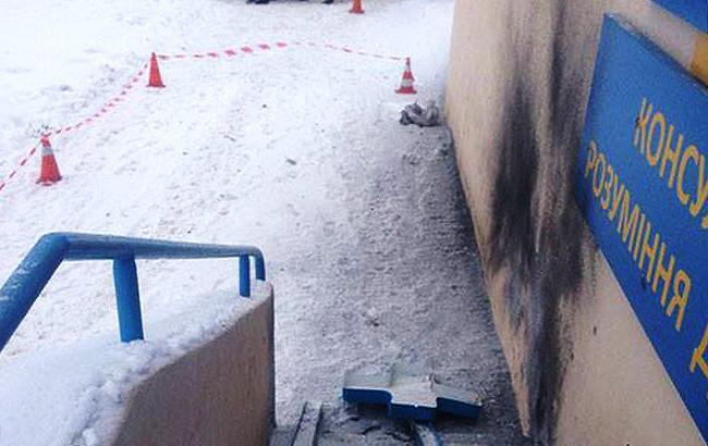Фото: взрыв в Харькове (facebook.com police.kharkov.jpg)