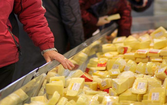 Росія заборонила ввезення сироподібних продуктів з України