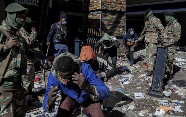 Кількість жертв заворушень у ПАР перевищила 200 осіб: деякі з них були застрелені