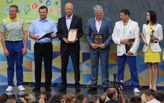 Фото: Члени олімпійської збірної України (noc-ukr.org)