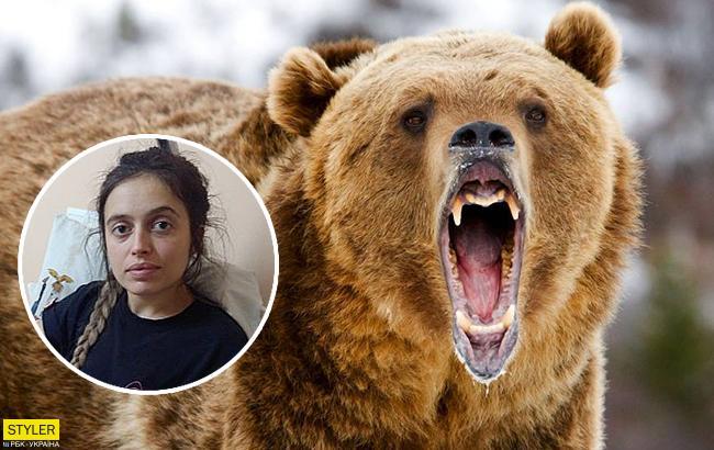 Медведь набросился на украинку: история получила продолжение