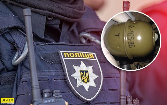 В Днепропетровской области во двор активиста бросили гранату