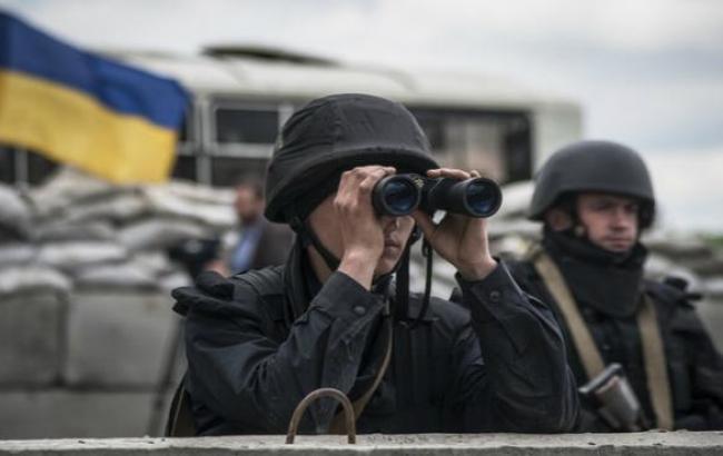В зоне АТО за сутки ранены 4 украинских военных, - штаб