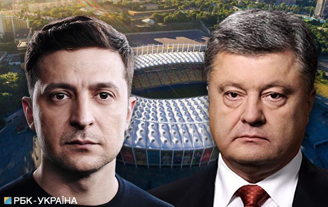 Дебаты Зеленского и Порошенко: онлайн