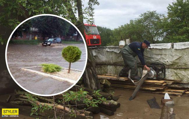 Жуткая гроза затопила почти весь город: Хмельницкий ушел под воду (фото)