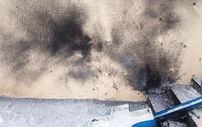 Фото: вибух у Харкові (facebook.com police.kharkov)
