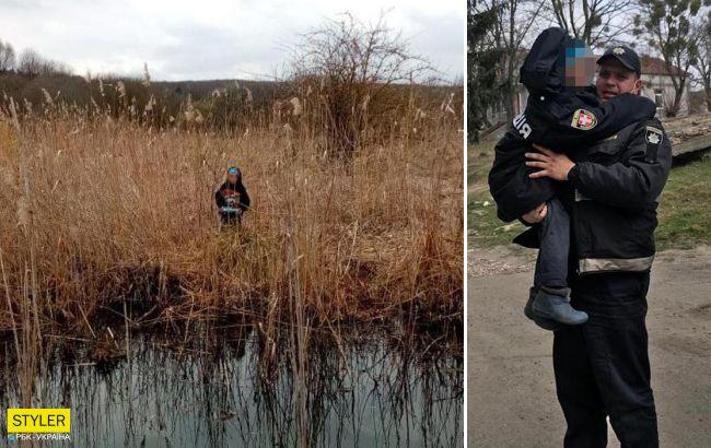 На Волыни 7-летний мальчик сбежал от матери и ночевал на болоте: дом хуже сарая