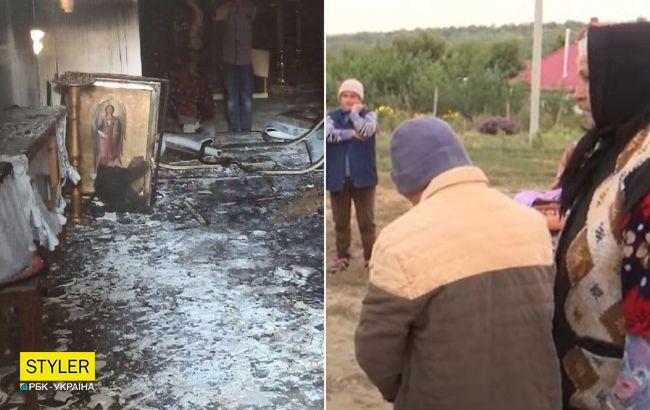 """12-летний поджигатель церкви соврал """"копам"""":всплыли новые детали ЧП под Одессой"""