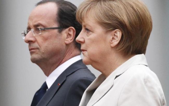Меркель и Олланд срочно прибывают в Киев, а завтра намерены посетить Москву