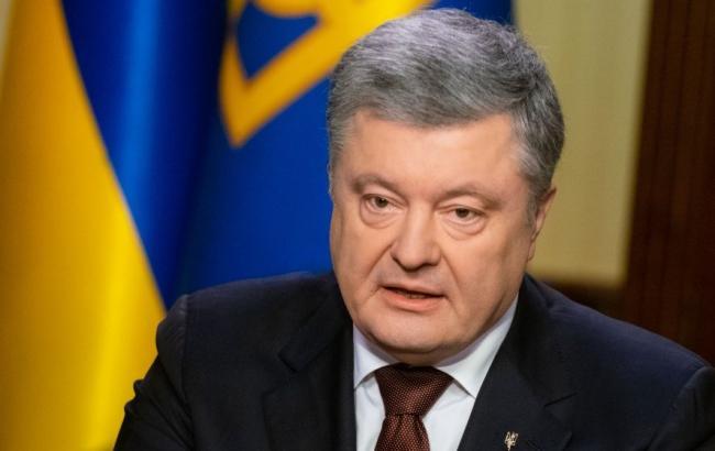 Порошенко: докази злочинів РФ проти українців передадуть до Гааги