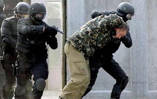 Милиция на Донбассе задержала боевика