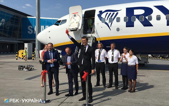 З України вилетів перший рейс Ryanair