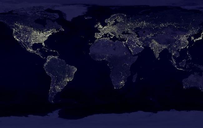 Астронавт показал ночное видео с орбиты Земли