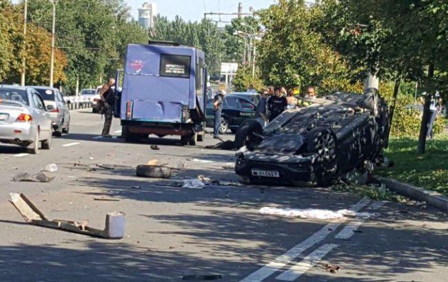 В оккупированном Донецке в тройном ДТП погибли дети