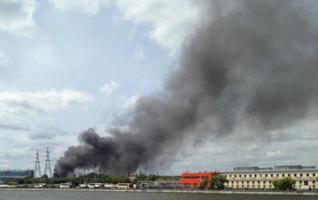 Фото: пожежа в Москві