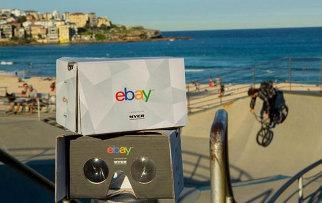 eBay запустил первый в мире виртуальный магазин