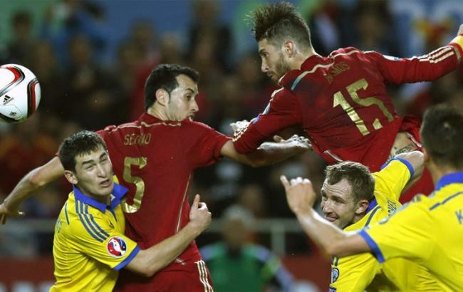 Видео трансляция футбола украина испания