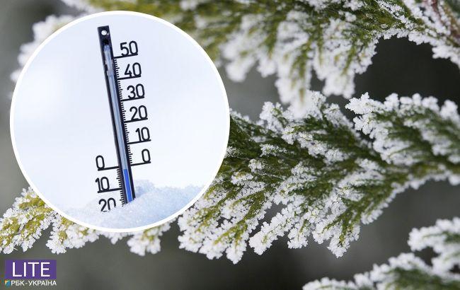 Декабрь в Украине начнется с мороза и снега: где будет холоднее всего