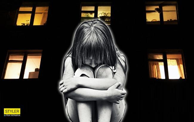 В Запорожье мать бросила 7-летнюю девочку замерзать ночью на улице