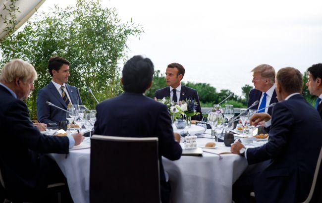 """Лидеры G7 обсудили возвращения к формату """"Большой восьмерки"""
