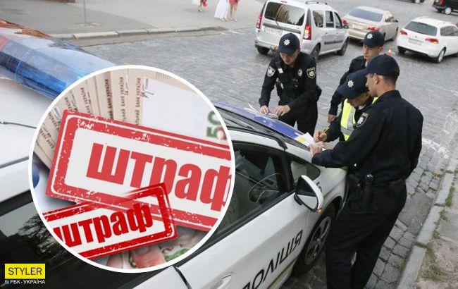 Водителей теперь будут наказывать строже: в Украине ввели новые штрафы