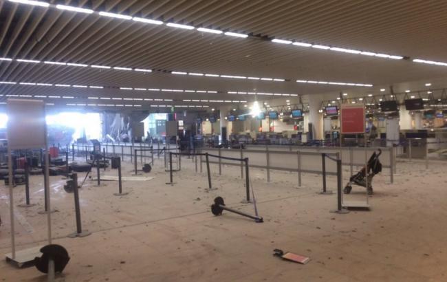Фото: теракт в аеропорту Брюсселя