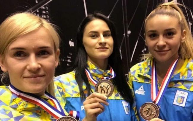 Українські каратисти завоювали три бронзи на турнірі в Роттердамі