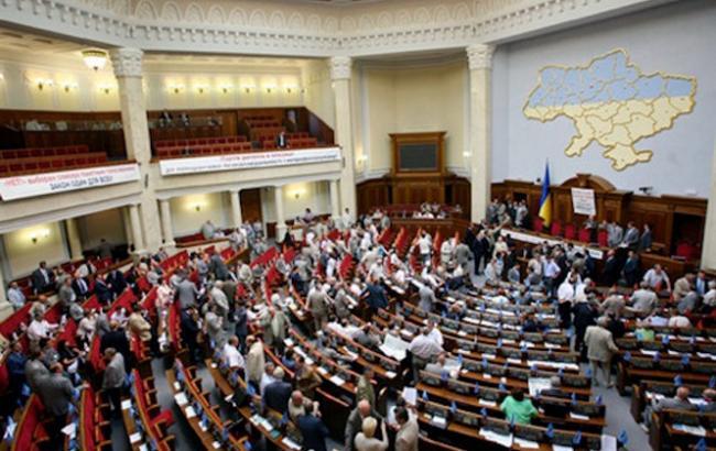 Рада сегодня рассмотрит законопроект о ратификации финансового соглашения с ЕИБ