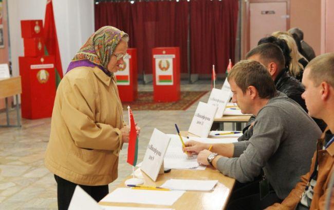 Фото: голосування в Білорусі