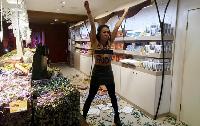 Фото: Активистка (facebook.com/lavrentevlava)