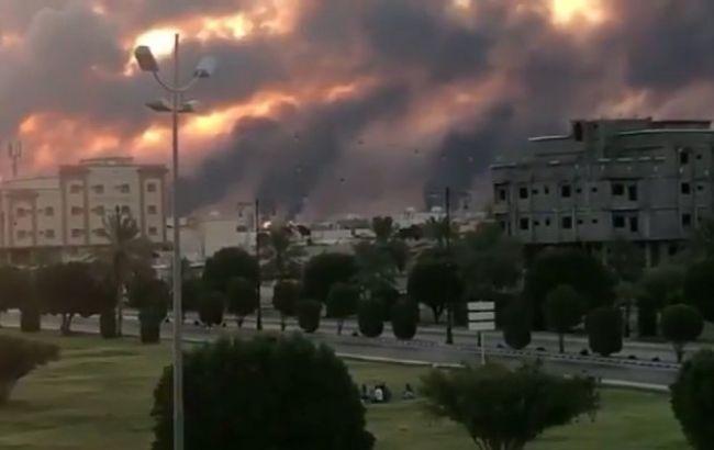 На одному з найбільших у світі НПЗ Саудівської Аравії сталася пожежа