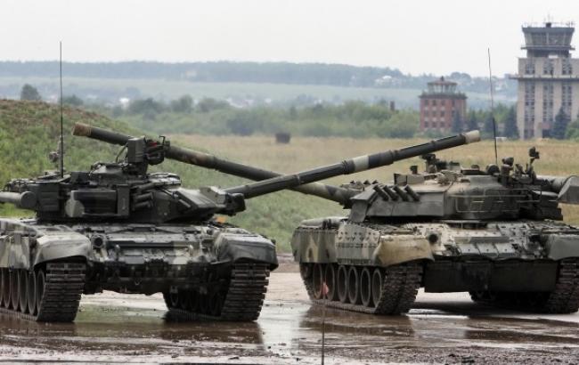 В район Донецка перебрасываются российские танки и артиллерия, - ИС