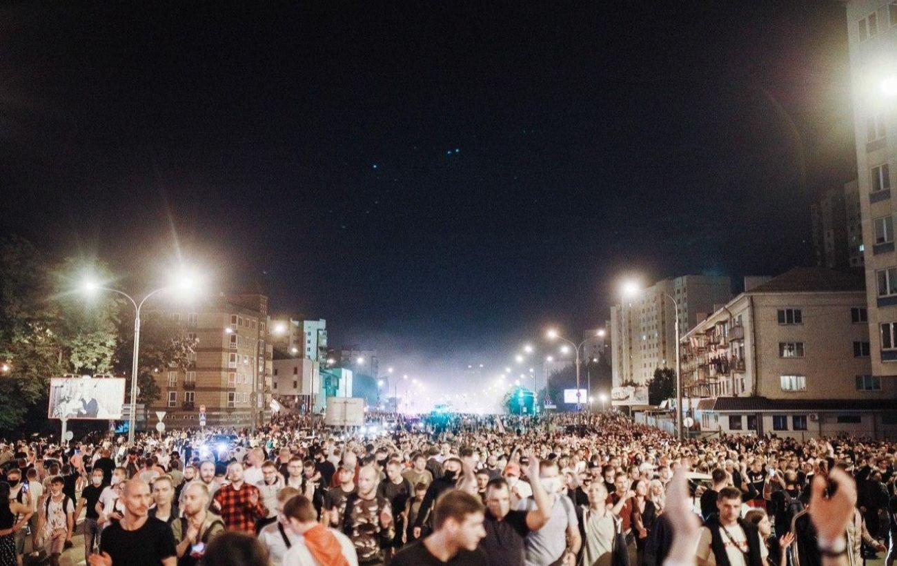В Минске перед началом акции протеста начались задержания