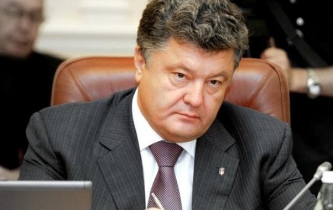 Порошенко внес в Раду указ о проведении мобилизации в 2015 г
